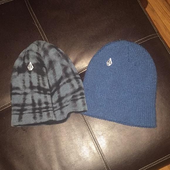 120073faf13b Volcom Accessories | 2 Snowboard Beanies Ski Hats | Poshmark